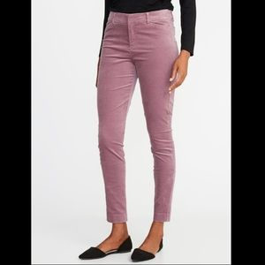 Mauve Ankle Pants